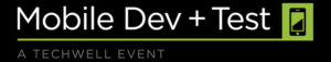 Mobile Dev + Test Logo from Techwell